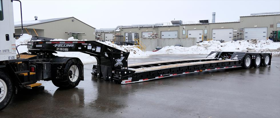 lowboy semi trailers for sale usa