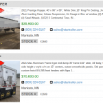 Semi Trailers for Sale in California to Buy Online