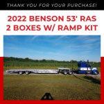 Benson Aluminum Drop Deck